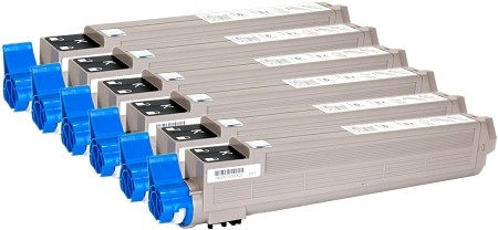 200-100225-6PK Black Toner for Xante  Ilumina Digital Color Press